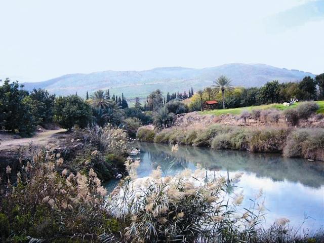 Река Иордан, как считают ученые, по меньшей мере семь раз меняла свое русло