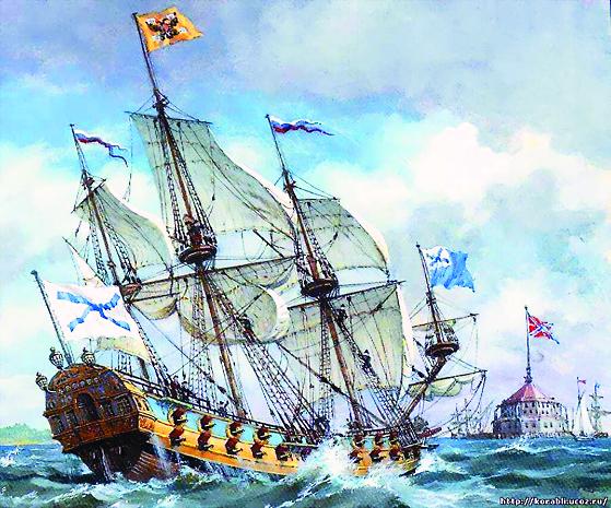 Во время Северной войны Лавра строила корабли