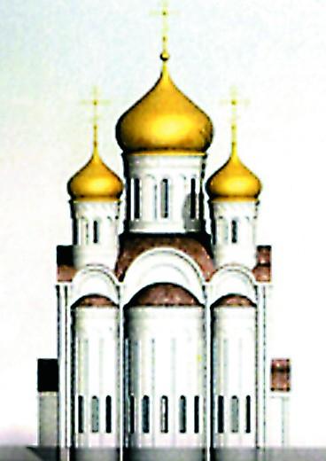 В стиле владимиро- суздальского зодчества Храм в честь Всемилостивого Спаса (Пятницкое шоссе, вл. 5)
