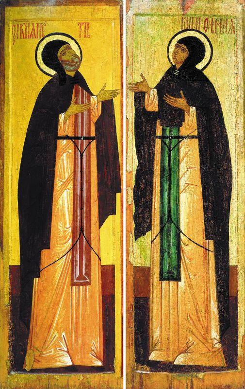 Петр и Феврония Муромские, покровители супружеской жизни.