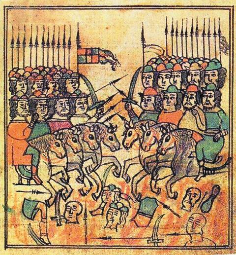 Чудесное явление иконы Николы Заступника явно означало Божию помощь в предстоящей битве с Мамаем на Куликовом поле