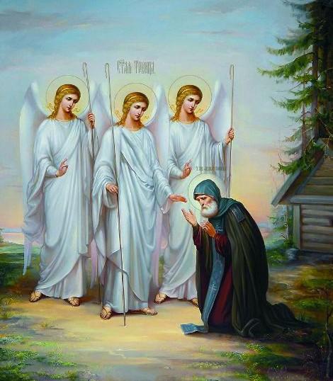 Александр Свирский стал вторым человеком на Земле, который видел Бога в Трех Лицах.