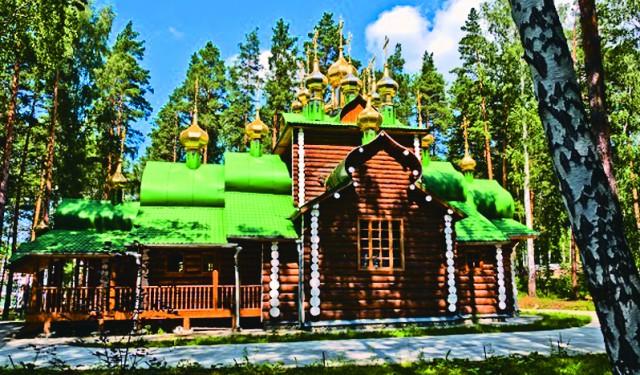 Урочище Ганина Яма. Монастырь святых царственных страстотерпцев