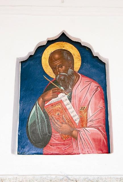 На острове Патмос, в пещере Откровения, апостол Иоанн Богослов написал книгу Апокалипсис, самую загадочную книгу Нового Завета