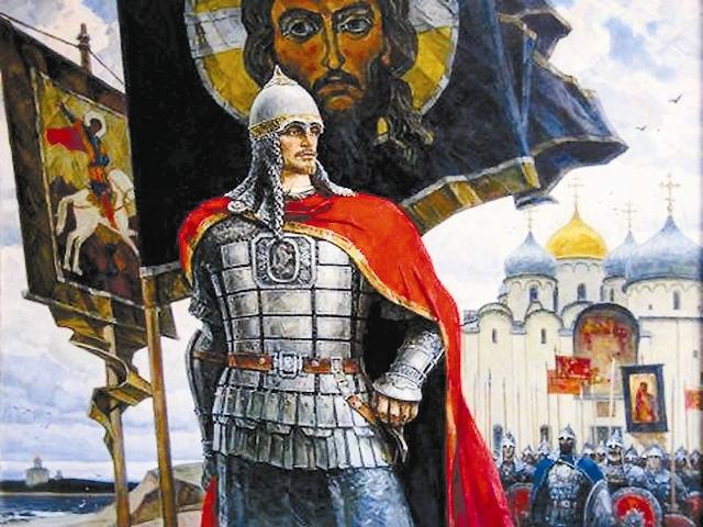 Когда Александра посвящали в воины, ему было всего три года