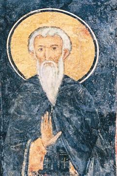 Фреска святого Иоанна Рыльского