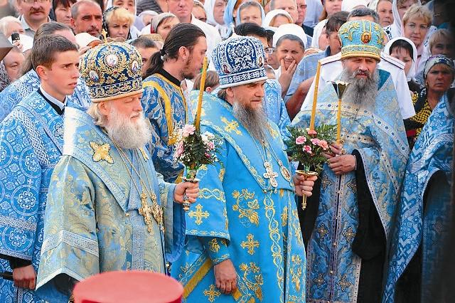 Митрополит Ярославский и Ростовский Пантелеимон, епископ Рыбинский Вениамин