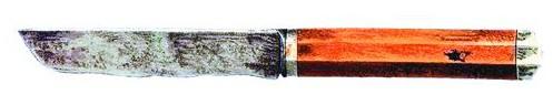 Ножичек (хранится в Церковно-археологическом кабинете МДА)