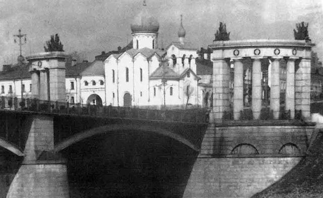 Старообрядческий Никольский храм на Варгунихиной горе. Фото 1915–1920 годов
