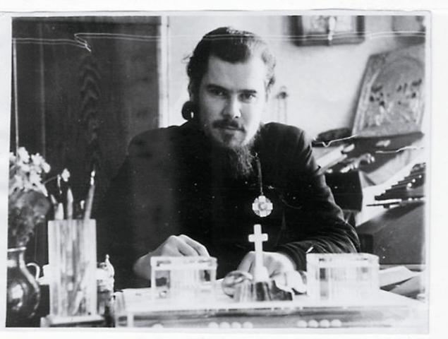 Старший иподиакон, будущий Патриарх Алексий II
