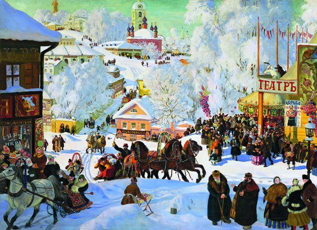Масленица празднуется на Руси с древних языческих времен