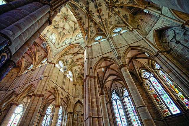 Трирский собор — своды