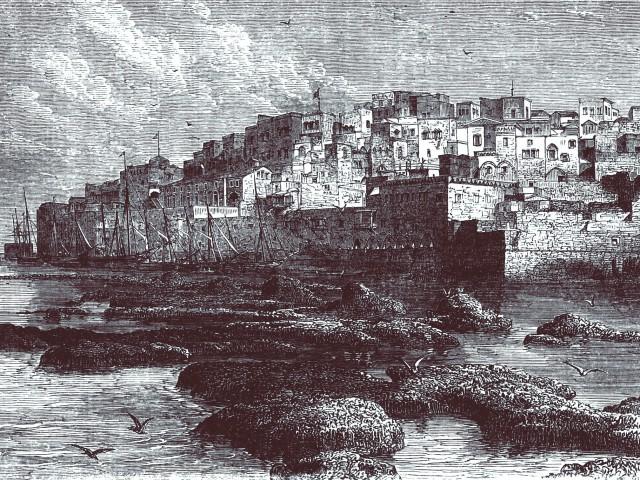 Обычный путь русских паломников в Иеруса- лим пролегал через Одессу и Константинополь (по-древнерусски Царьград) в Яффу