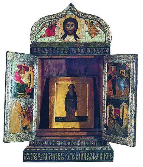 Икона святого Кирилла Белозерского