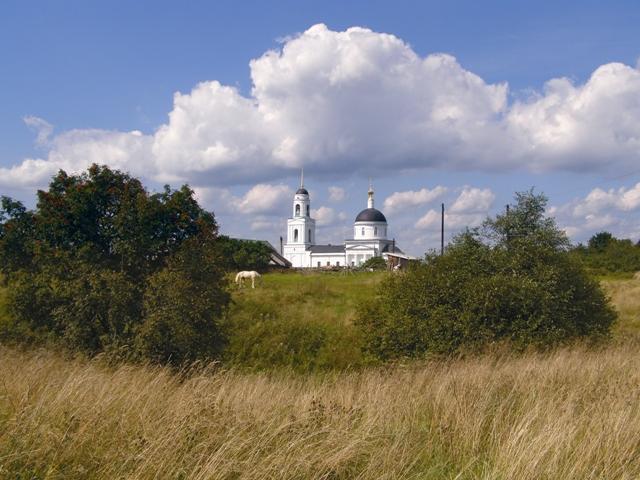 Храм Преображения Господня. Здесь жил и работал преподобный Андрей Рублев