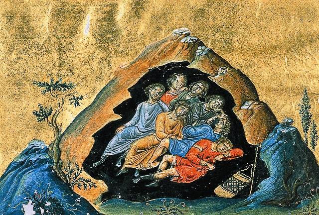 Святые отроки Ефесские телесно не пострадали от язычников, однако Церковь причисляет их к святым мученикам за готовность принять смерть за христианскую веру