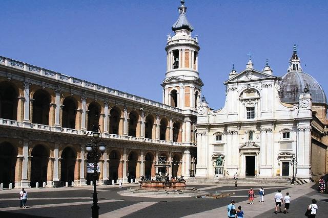 Святой дом в городе Лоретто