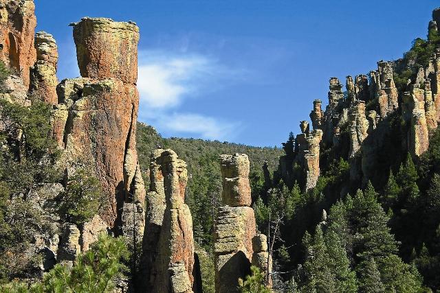Приобретенная земля находилась в небольшой возвышенной пустыне Сонора среди нескольких горных хребтов Грэм