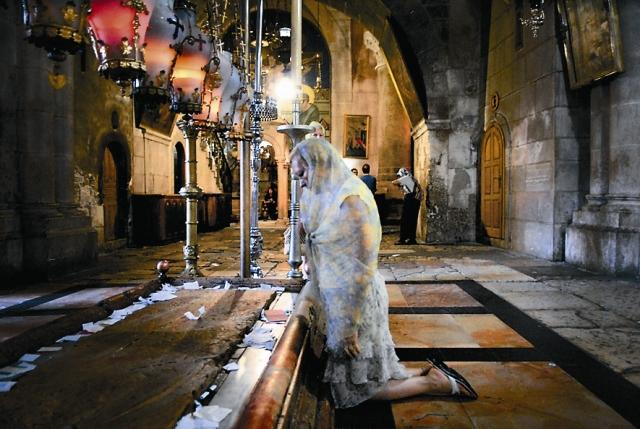 У гроба Христа