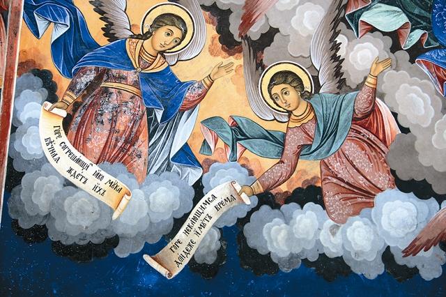 Фрески храма Рождества Богородицы