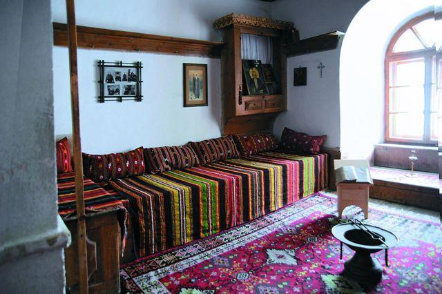 Музейная экспозиция «Келья инока»