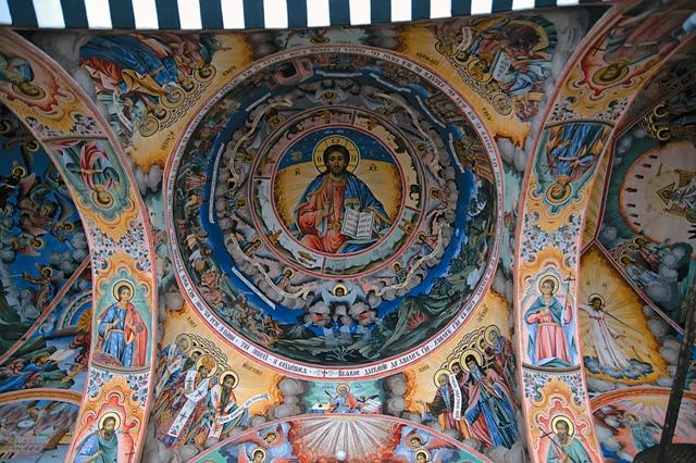 Храм Рождества Богородицы, фреска «Господь-Вседержитель»