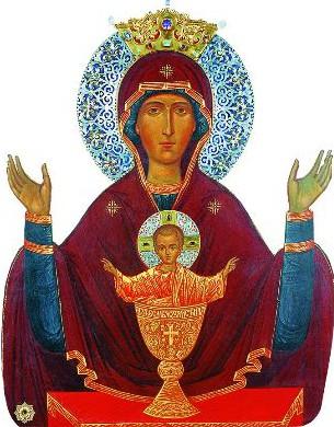 Откроем секрет – чудотворных икон «Неупиваемая Чаша» в Серпухове две. Одна находится во Введенском Владычном женском монастыре, другая в мужском – Высоцком