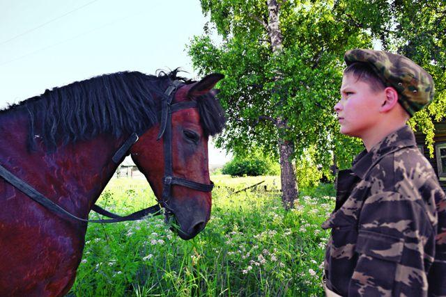 В Печенкине городские дети имеют возможность узнать деревенскую жизнь изнутриВ Печенкине городские дети имеют возможность узнать деревенскую жизнь изнутри