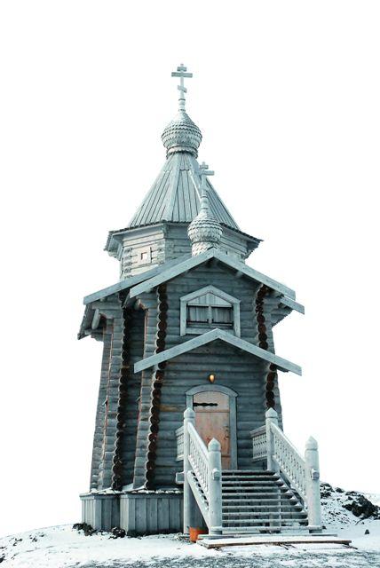 Храм Живоначальной Троицы на острове Кинг-Джордж в расположении российской антарктической научной станции «Беллинсгаузен» – самый южный православный храм на планете