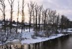 На границе Московской и Калужской областей, на бе- регу реки Протвы расположился старинный город Боровск.