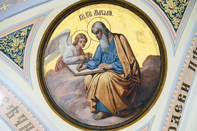 Фрагменты росписи собора Усекновения главы Иоанна Предтечи