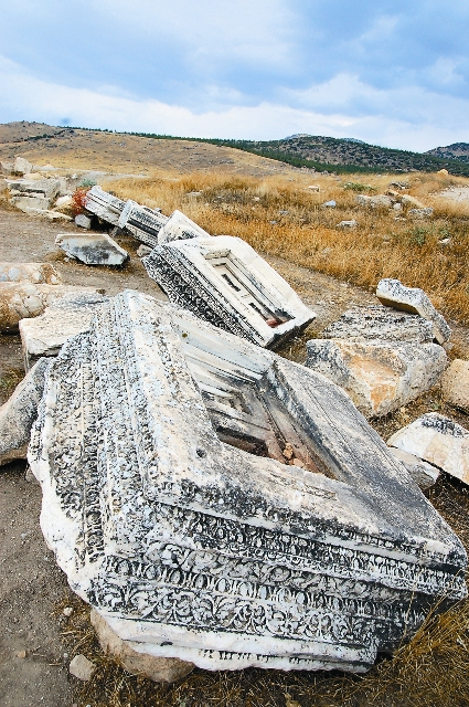 Древние надгробные плиты
