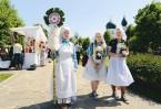 На благотворительном празднике «Белый цветок»