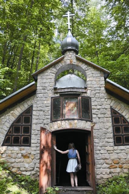 Святая Параскева  сама указала место целебного источника