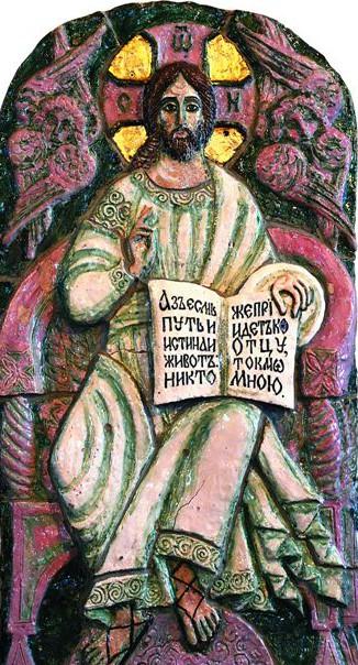 Монастырь всегда славился уникальными керамическими иконами
