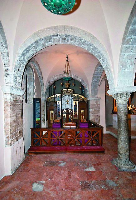 Внутреннее убранство базилики святителя Николая