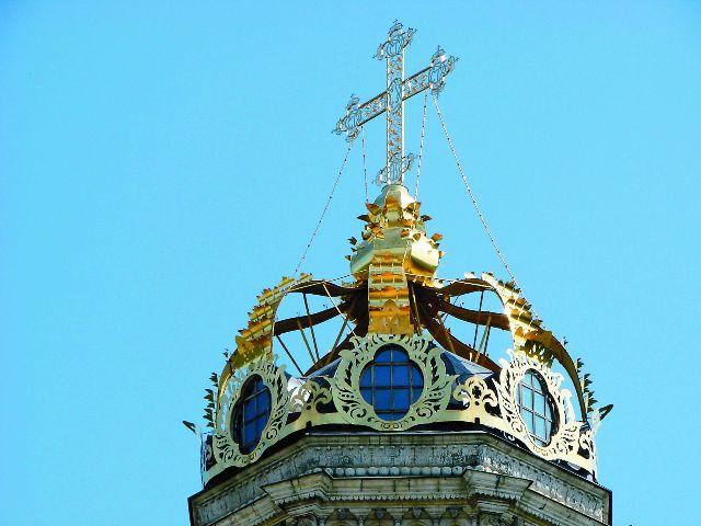 Корона вместо купола