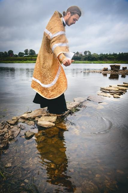 Освящение реки Великой