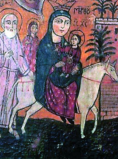 В Египте Богомладенец и Святое семейство провели три года