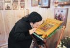 Восьмого марта строительную площадку посетила великая княгиня Мария Владимировна Романова. Это был частный визит, которого так желали прихожане строящейся церкви.