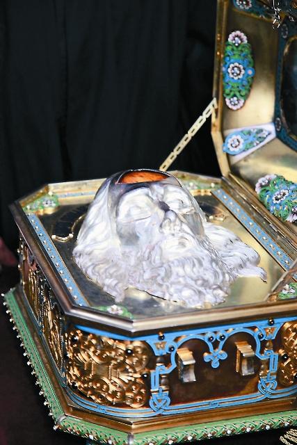 Честная глава святого апостола Андрея Первозванного