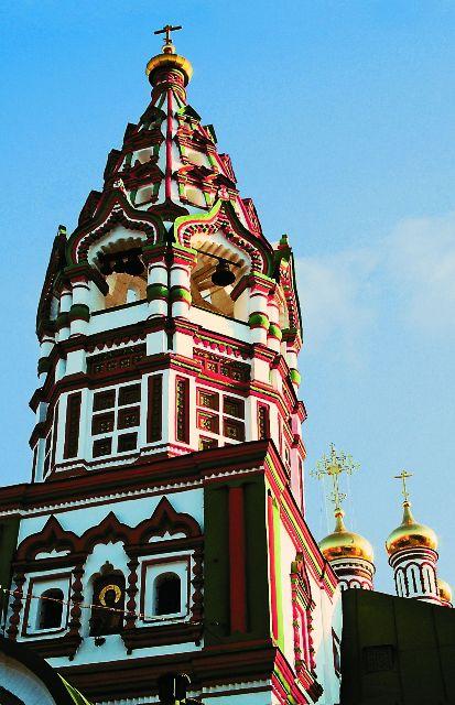 Один из самых ярких памятников периода расцвета русского зодчества – храм Николая Чудотворца