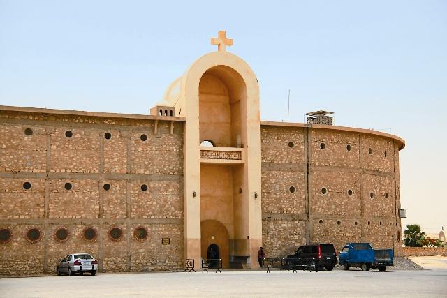 Монастырь Абу-Макар основан прп. Макарием Великим