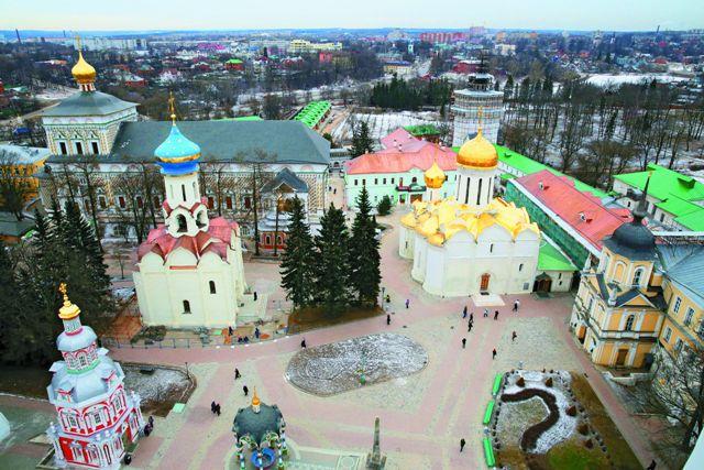 Свято-Троицкая Сергиева Лавра стала зримым воплощением благодарного народного чувства