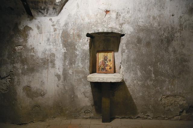 Пещерный храм в Гефсиманском скиту