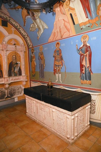 Рака с мощами святого Варнавы