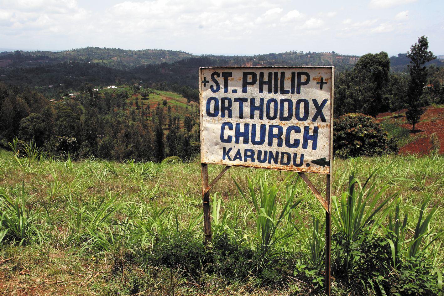 Еще тридцать лет назад богослужения нередко проходили прямо под открытым небом