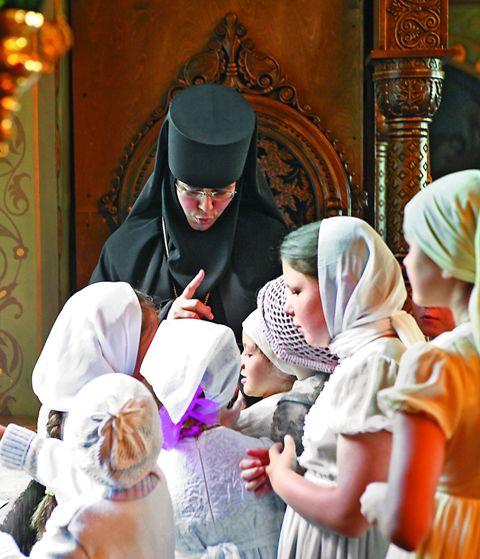 Воспитанницы православного пансионата «Ковчег»