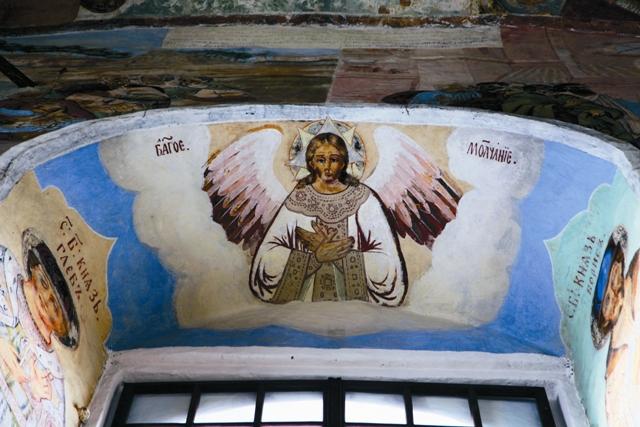 Фрески Свято-Троицкого Александра Свирского мужского монастыря