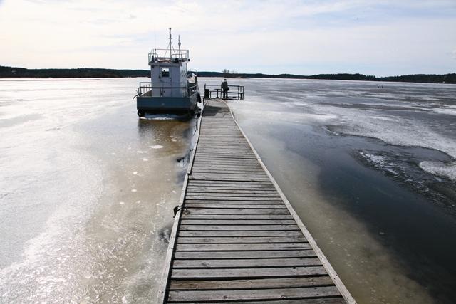 Пристань в заливе Ретулахти